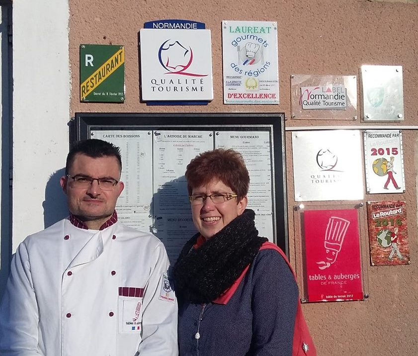 Cyril Font et Nathalie Boulay de la Dinette Gourmande